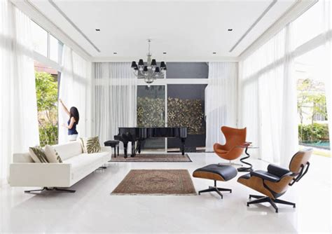 Eames Chair Living Room Eames Lounge Chair Modern Living Room Vancouver By Rove Concepts