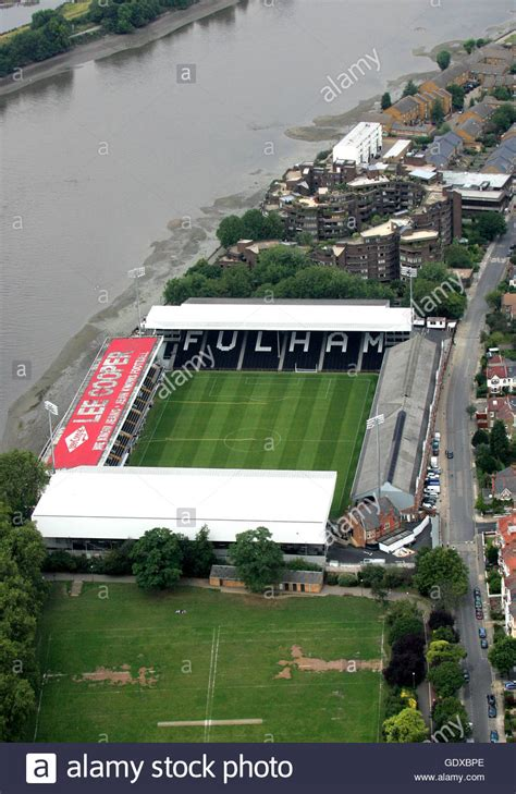 fulham craven cottage craven cottage fulham stock photo