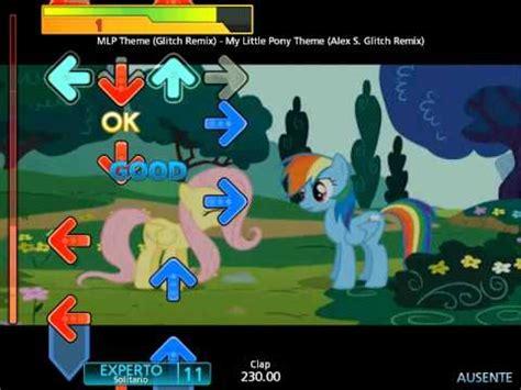 ps4 themes my little pony full download my little pony fim theme alex glitch remix