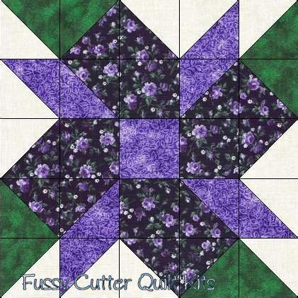 flower pattern quilt block scrappy fabric calico flowers easy pre cut quilt blocks