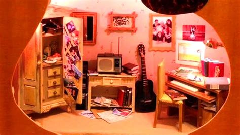 inside of a doll house miniature doll house carved inside guitar youtube