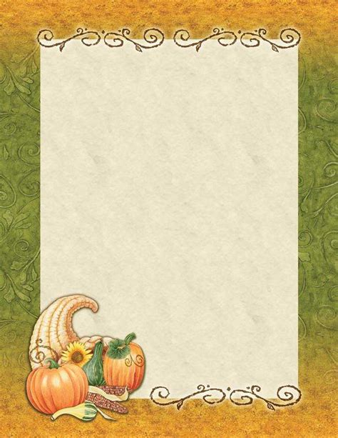 printable fall stationery paper image gallery fall stationery
