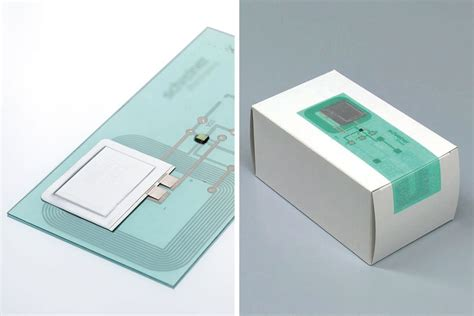 printed electronics rfid sensor platform and functional for automatic processing