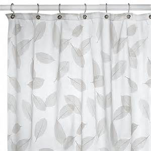 Bed Bath Beyond Shower Curtains Modern Leaf Peridot Shower Curtain Bed Bath Amp Beyond