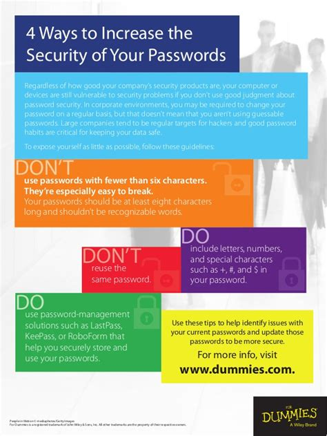 4 ways to increase your 4 ways to increase password security