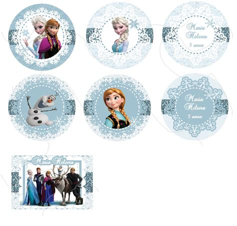 Topper Frozen by Toppers Frozen A Botique Festas Elo7
