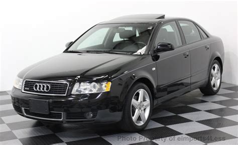 Are All Audi A4 Awd by 2003 Used Audi A4 1 8t Quattro Awd 5 Speed Sedan At