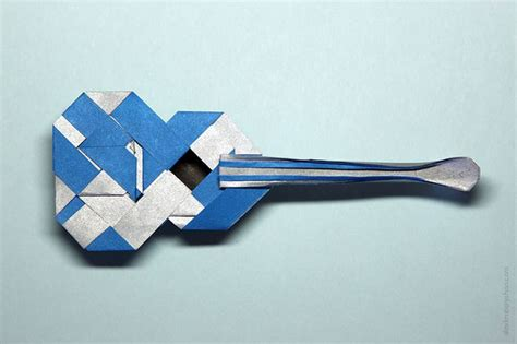 origami guitar tutorial 24 best images about origami on pinterest straws ballon