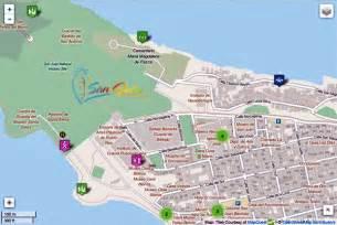 san juan map maps update 600465 tourist map of san juan