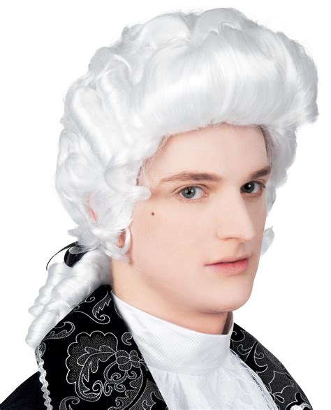 male wigs variety of colours fancy dress accessory 50 s 60 white baroque wig mens fancy dress medieval renaissance