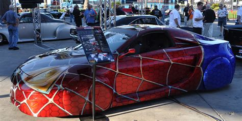 the Spiderman theme paintjob  eyecatching. Lighting is