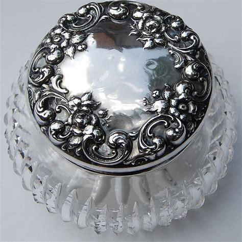 Vanity Jar by 1000 Images About Sterling Dresser Jars Powder Vanity