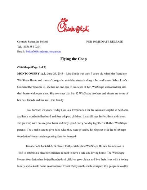 print news release