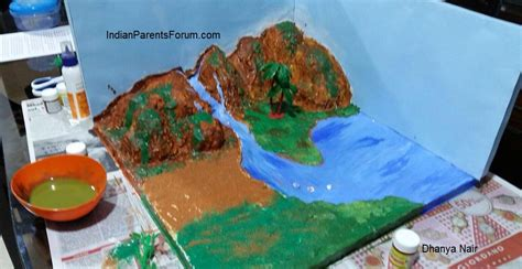 How To Make A 3d Model Out Of Paper - how to make 3d model of water cycle d science and models