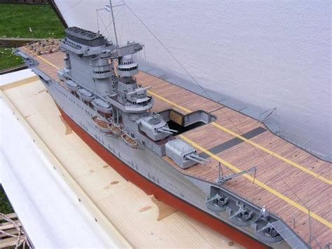 How To Make A Paper Aircraft Carrier - 072 135cm uss cv 2 aircraft carrier paper model