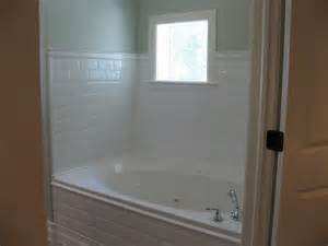 Trim Around Bathtub Might Want To Use White Subway Tile Around The Master Bath