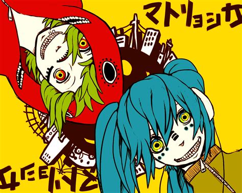 film anime vocaloid fanart for quot matryoshka quot a vocaloid song source unknown