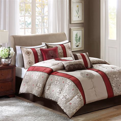 7 piece comforter set madison park donovan 7 piece comforter set ebay