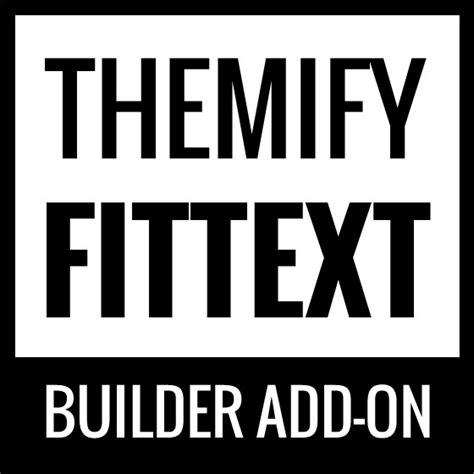 Themify Builder Fittext V1 1 1 themify builder fittext addon plugin v1 1 0
