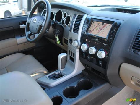 Toyota Tundra Limited Interior by Beige Interior 2008 Toyota Tundra Limited Crewmax 4x4
