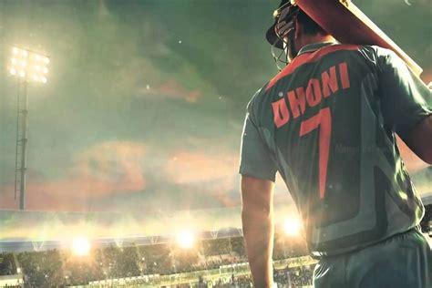 dhoni biography movie trailer m s dhoni the untold story trailer break