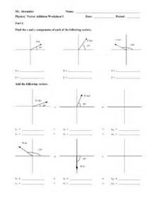 mr alexander physics vector addition worksheet fill