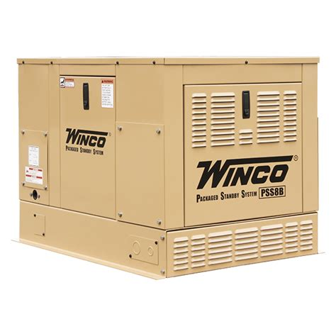 winco kw home standby generator hplp natural gas electric start bs vanguard engineweather