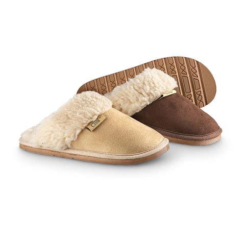 scuff slipper s snowy creek scuff slippers 210040 slippers at