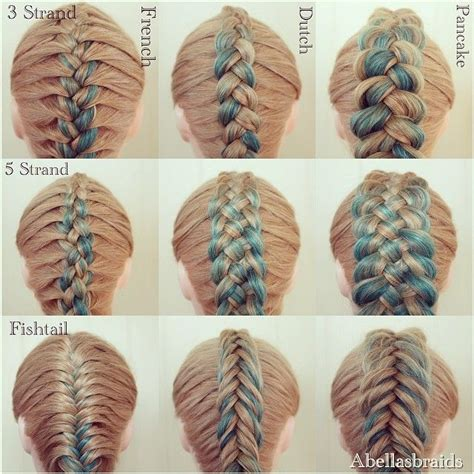 different kinds of braids step by step i finally got around to another photo collage it s more