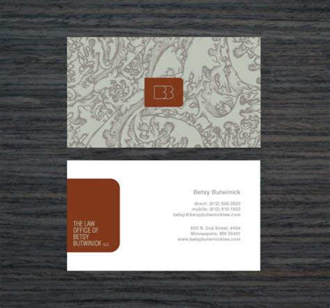 business card template for attorney professional lawyer business cards design exles