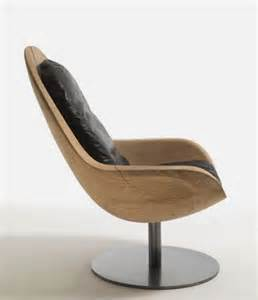 modern armchair made of single of solid wood creus