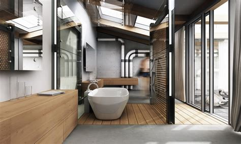 Modern Loft Bathroom Accessories How To Decorate A Stylish And Functional Industrial