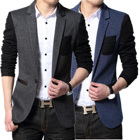 Jaket Casual Jaket Fashion Pria Cz 551 cheap new style suit brand casual jacket coat designs patch blazers