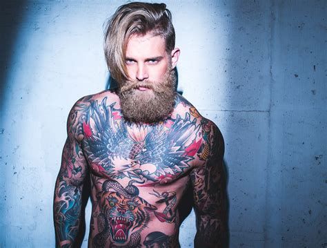 fashion tattoos for men hipsters are back on beards josh mario