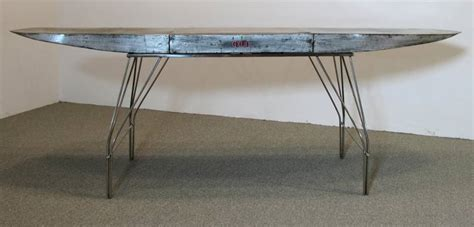 aircraft wing desk for sale airplane wing desk by jonathan singleton for sale at 1stdibs