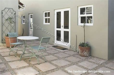 backyard floor ideas square pavers and gravel patio flooring ideas decks and backyards
