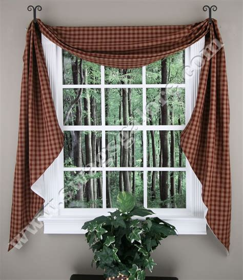 20 Best Jabot Swag Kitchen Curtains Images On Pinterest Kitchen Curtains Swags