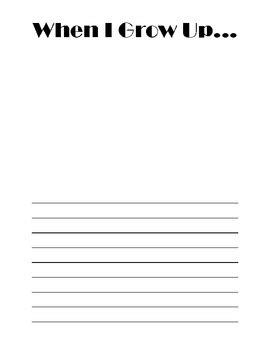 When I Grow Up Worksheet by When I Grow Up Worksheet For Kindergarten When Best Free Printable Worksheets