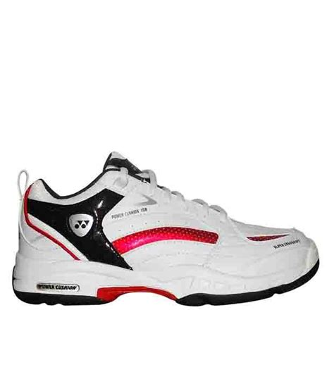 yonex sports shoes yonex power cusion sht 108 ex white sports shoes buy