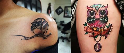 16 awesome owl tattoos for women everything about tattoos
