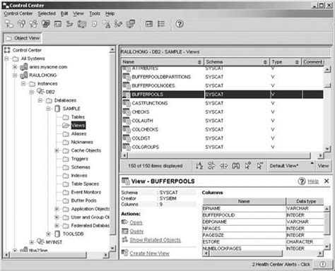 Syscat Tables by Appendixc Ibm Servers Understanding Db2 Learning
