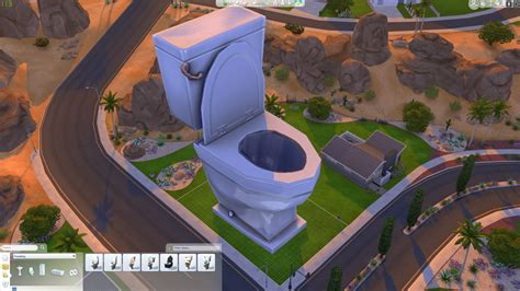 Home Design Cheats For Money This Sims 4 Lets You Build Toilets The Size Of