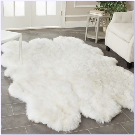 Fuzzy White Area Rug Fuzzy White Area Rug Smileydot Us