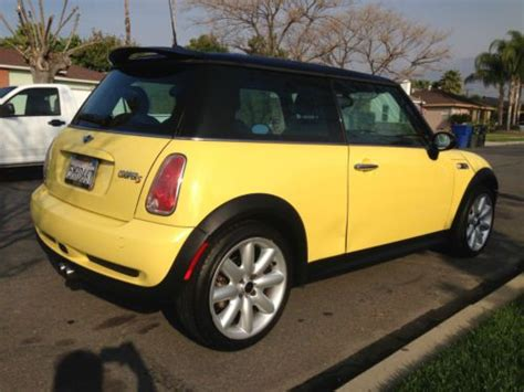 Mini 6 Speed Automatic by Purchase Used 2005 Mini Cooper S Hatchback 1 6l