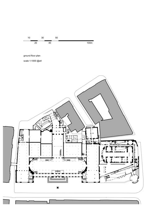 Museum Floor Plan Requirements by Interior Exterior Plan National Museum Scotland Ground