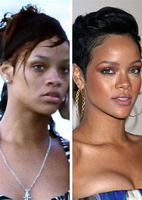 here all all the girls with their makeup done ready for girls night famosos al descubierto rihanna blogodisea