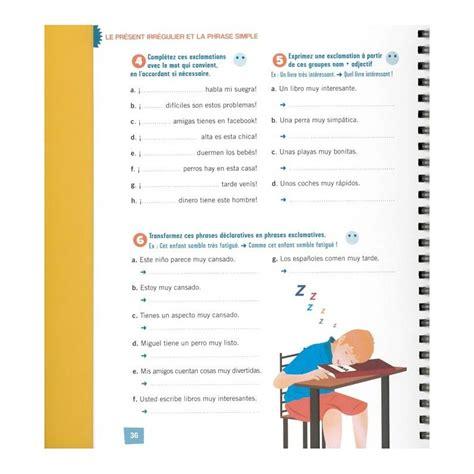 espagnol cahier dactivits pour 2729864814 les cahiers d exercices espagnol tous niveaux