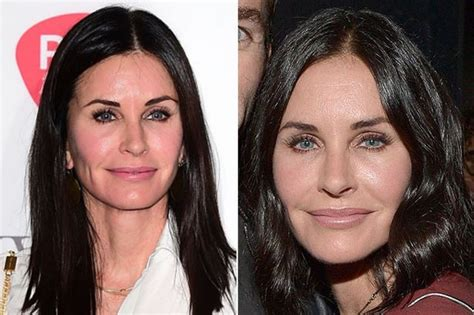 Courney Cox Gets by Courteney Cox Reveals She S Let Fillers Disolve