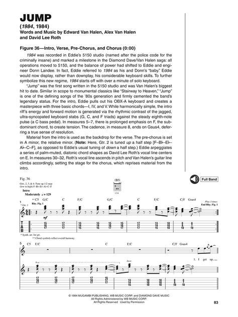 Tablature per chitarra: SPARTITI VAN HALEN SIGNATURE LICKS