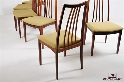 Set Of 6 Dining Room Chairs Set Of Six Palisander Dining Chairs Room Of